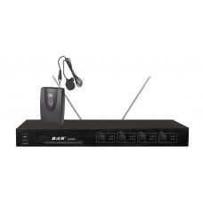 Радиомикрофоны clevermic BKR K-2024 (четыре петличных)