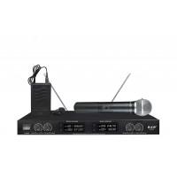 Радиомикрофоны clevermic BKR K-3034 (два ручных и два петличных)