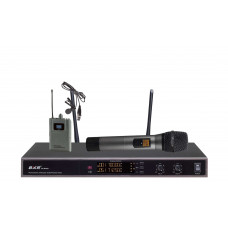 Радиомикрофоны clevermic BKR KX-D3912 (ручной и петличный)