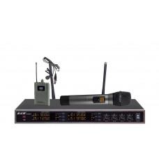 Радиомикрофоны clevermic BKR KX-D3914 (два ручных и два петличных)