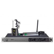 Радиомикрофоны clevermic BKR KX-D812 (ручной и петличный)